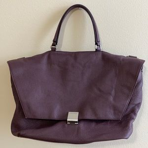Calvin Klein burgundy bag